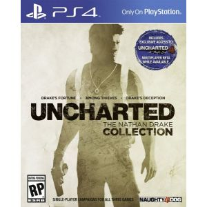 Uncharted The Nathan Drake Collection PS4 русская версия (б/у)