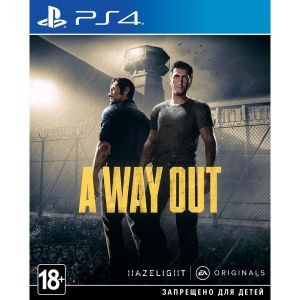 A Way Out PS4 Русские Субтитры