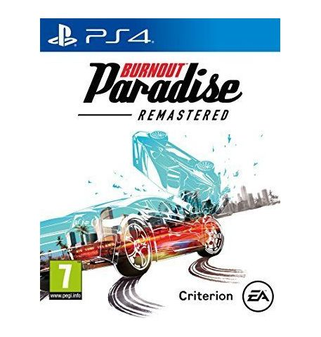 Фото №1 - Burnout Paradise Remastered PS4 Русская Версия