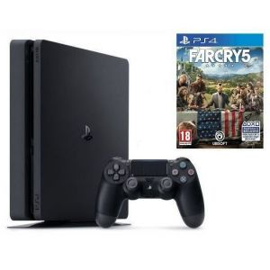 Sony PlayStation 4 SLIM 500gb + Игра Far Cry 5 (Гарантия 18 месяцев)