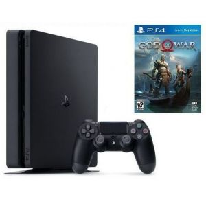 Sony PlayStation 4 SLIM 1 Tb + Игра God Of War 4 (Гарантия 18 месяцев)
