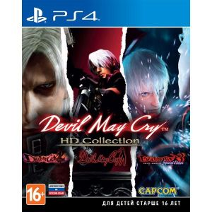 Devil May Cry HD Colection PS4 Русские Субтитры