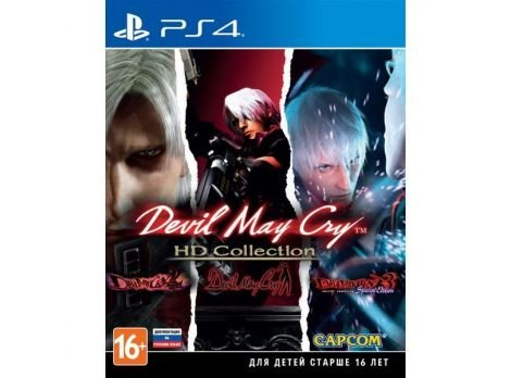 Фото №1 - Devil May Cry HD Colection PS4 Русские Субтитры