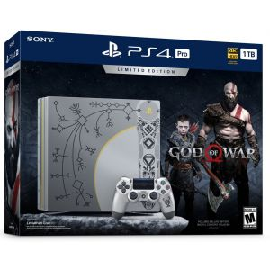 Sony PlayStation 4 Pro 1TB Limited Edition God Of War 4 (Гарантия 18 месяцев)