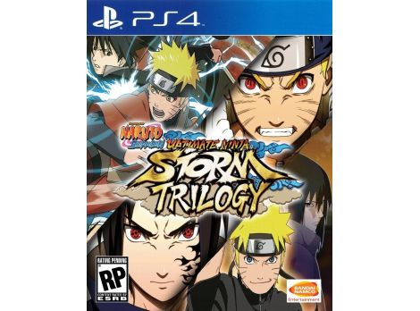 Фото №1 - NARUTO SHIPPUDEN: Ultimate Ninja STORM Trilogy PS4 Английская Версия