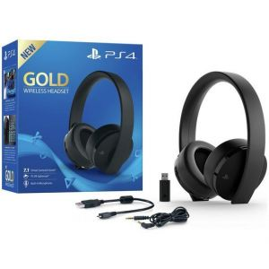Sony GOLD PS4 Wireless Headset - Black