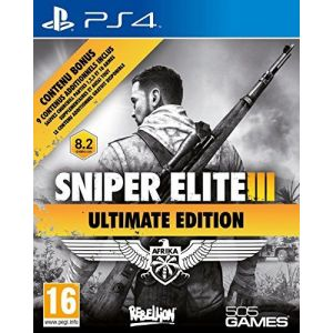 Sniper Elite 3 Ultimate Edition PS4 русские субтитры
