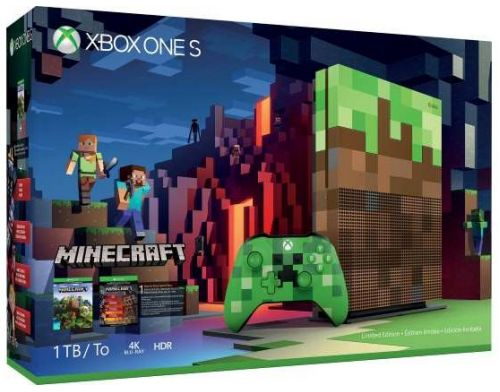 Фото №2 - Xbox ONE S 1TB Minecraft Limited Edition Bundle (Гарантия 18 месяцев)