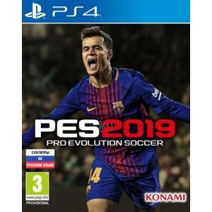Pro Evolution Soccer 2019 PS4 Русская версия