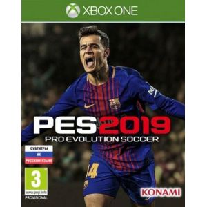 Pro Evolution Soccer 2019 Xbox ONE Русская версия