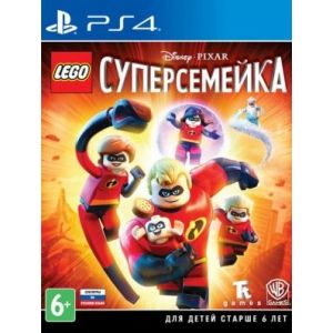 LEGO The Incredibles PS4 русские субтитры
