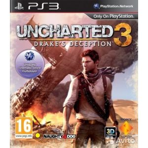 Uncharted 3: Oszustwo Drake'a PS3 (Б/У)
