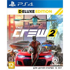 The Crew 2. Deluxe Edition PS4 русские субтитры
