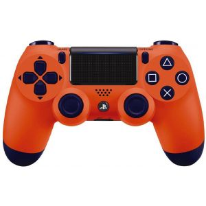 Sony Dualshock Sunset Orange Версия 2