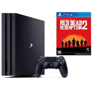 Sony PlayStation 4 PRO 1 Tb + Red Dead Redemption 2 (Гарантия 18 месяцев)