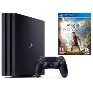 Sony PlayStation 4 PRO 1 Tb + Assassins Creed Odyssey (Гарантия 18 месяцев)