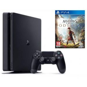 Sony PlayStation 4 SLIM 500 Gb + Assassins Creed Odyssey (Гарантия 18 месяцев)