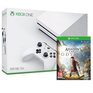Xbox ONE S 500GB + Assassins Creed Odyssey (Гарантия 18 месяцев)
