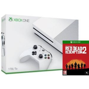 Xbox ONE S 1 TB + Red Dead Redemption 2 (Гарантия 18 месяцев)