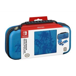 Чехол Deluxe Travel Case Zelda Breath of the Wild Blue для Nintendo Switch Officially Licensed by Nintendo