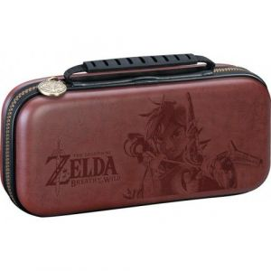 Чехол Deluxe Travel Case Zelda Breath of the Wild Brown для Nintendo Switch Officially Licensed by Nintendo