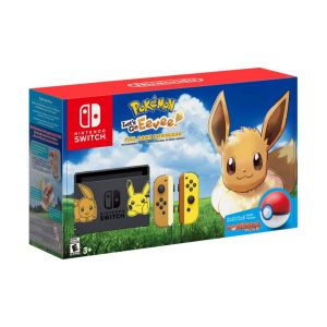 Nintendo Switch + Игра Pokémon Let's Go Evee+Poke Ball