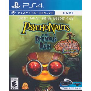 Psychonauts In the Rhombus Of Ruin PS4 VR Английская версия