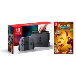 Nintendo Switch Gray +Игра Rayman Legends: Definitive (Гарантия 18 месяцев)