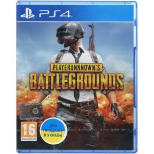 PlayerUnknown's Battlegrounds PS4 русская версия