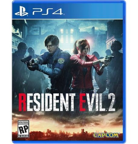 Фото №1 - Resident Evil 2 Remake PS4