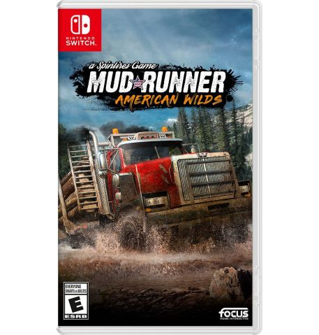 Фото №1 - Spintires: Mudrunner American WIlds Nintendo Switch Русские субтитры