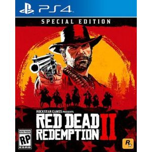 Red Dead Redemption 2. Special Edition PS4 Русские субтитры Б/У