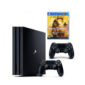 Sony PlayStation 4 PRO 1 TB + Доп Джойстик Version 2 + Mortal Kombat XI PS4 русская версия
