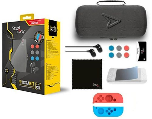 Фото №4 - Steel Play Carry and Protect Kit 11 in 1 для Nintendo Switch