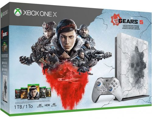 Фото №2 - Xbox One X 1TB Gears 5 Limited Edition Bundle (Гарантия 18 месяцев)