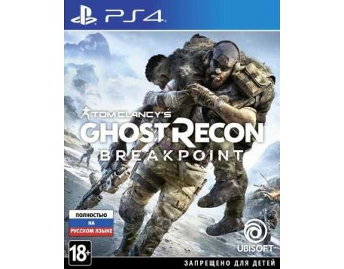 Фото №2 - Tom Clancy's Ghost Recon Breakpoint PS4 русская версия