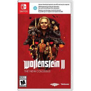 Wolfenstein: The New Colossus Nintendo Switch Б/У