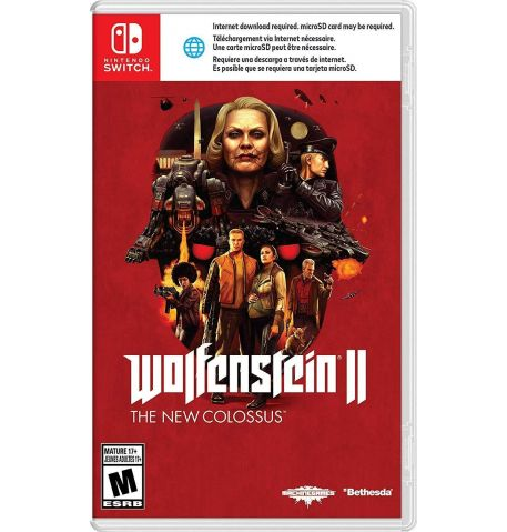 Фото №1 - Wolfenstein: The New Colossus Nintendo Switch Б/У