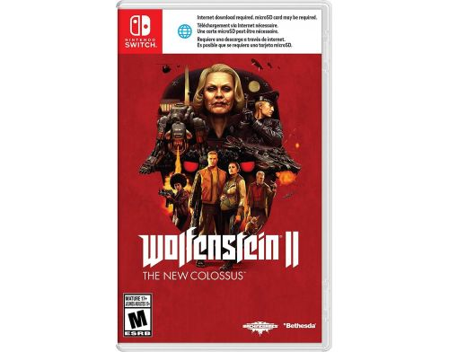 Фото №2 - Wolfenstein: The New Colossus Nintendo Switch Б/У