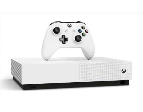 Фото №4 - Microsoft Xbox One S 1Tb All-Digital Edition + 12 игр