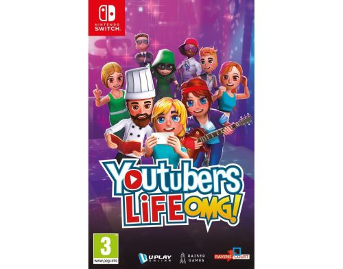 Фото №2 - Youtubers Life OMG Edition Nintendo Switch Б/У