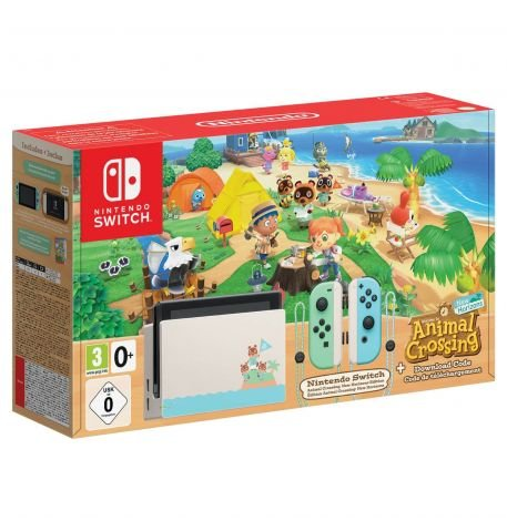 Фото №1 - Nintendo Switch Animal Crossing: New Horizons Limited Edition (Upgraded version)