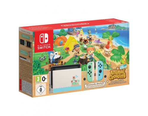 Фото №2 - Nintendo Switch Animal Crossing: New Horizons Limited Edition (Upgraded version)